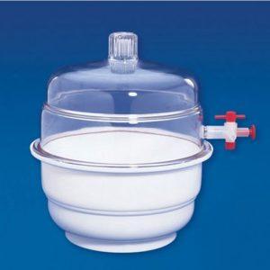 plastic vacuum desiccator polylab