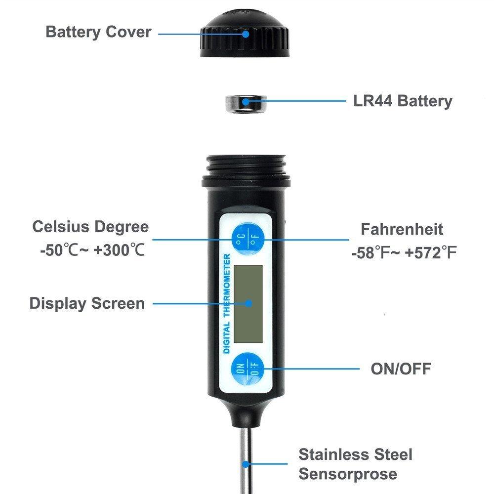 Waterproof Thermometer 2
