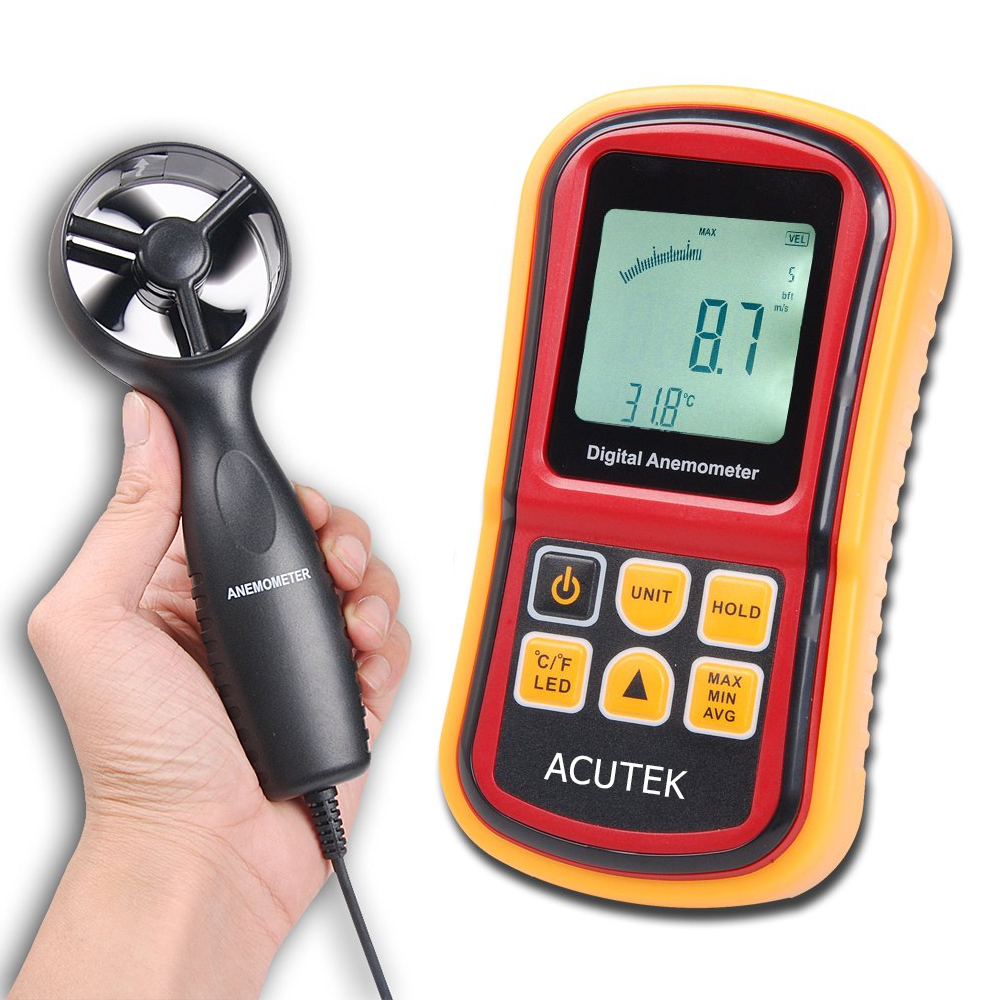 anemometer with probe