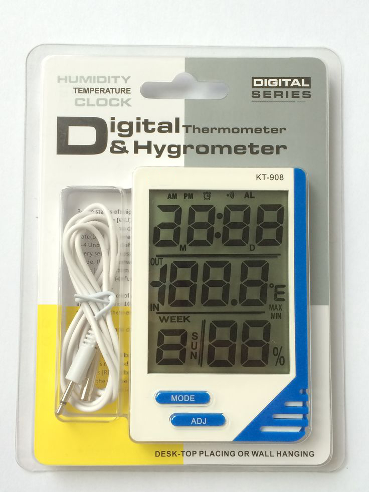 THERMO HYGROMETER KT-908 2