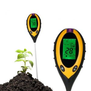 4 in 1 Soil PH Moisture Meter