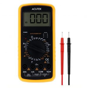 acutek digital multimeter 9205A sq