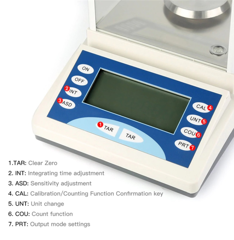 Analytical Weighing Scale 0.1mg (EXT) 1