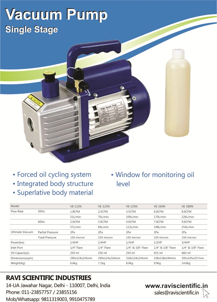 Acutek Oil Vacuum Pump