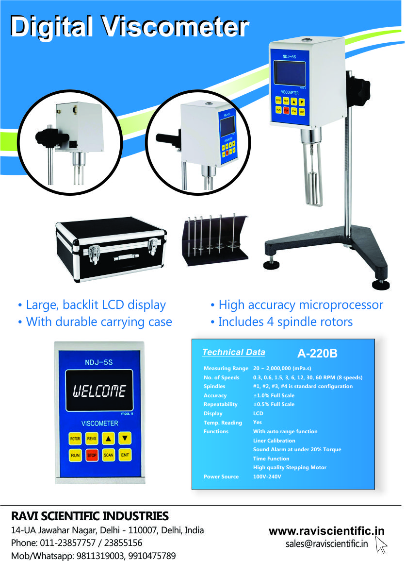 Acutek Digital Viscometer Brochure