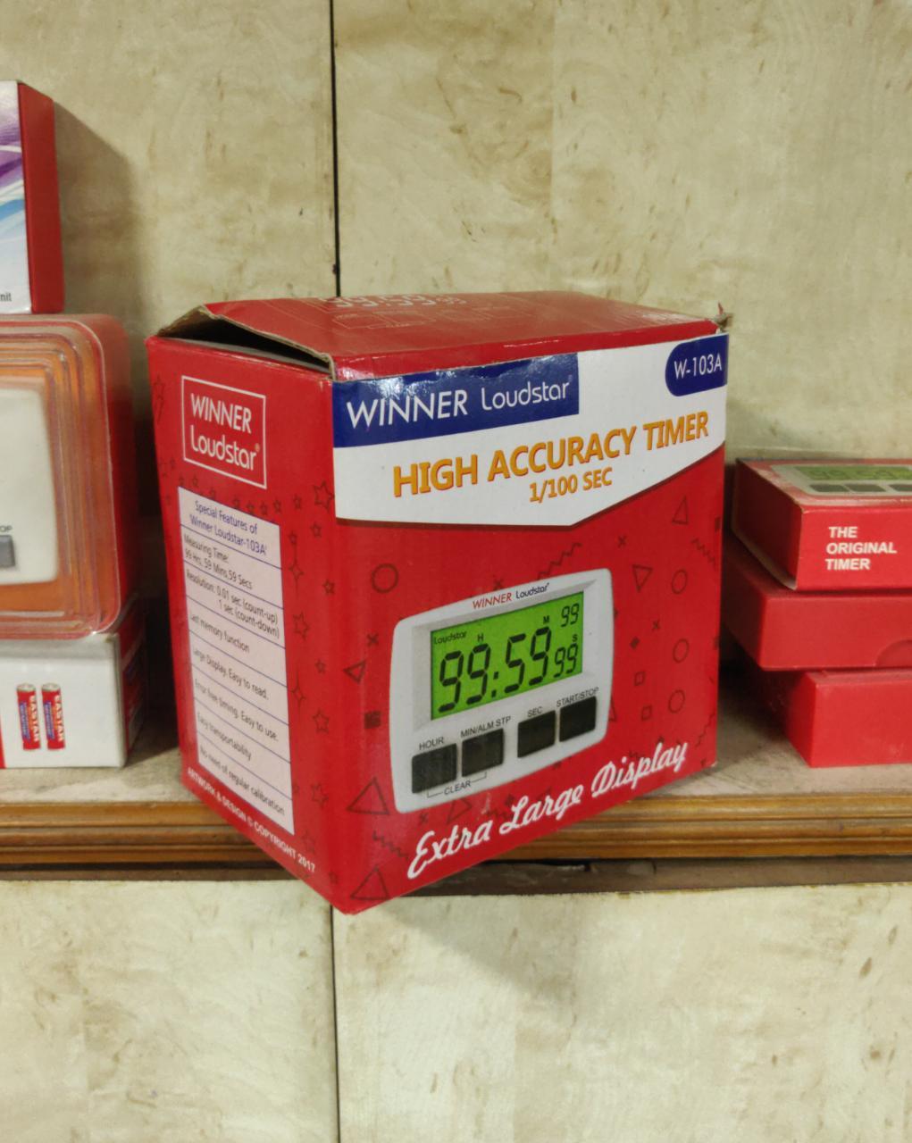 Winner Loudstar Timer box of 10