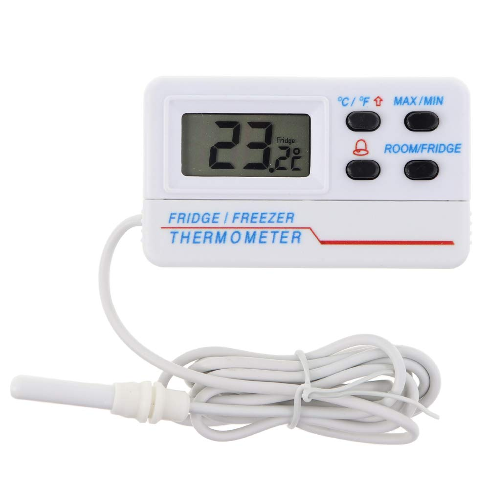 Fridge Thermometer with Alarm