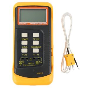 Dual channel Thermocouple Thermometer