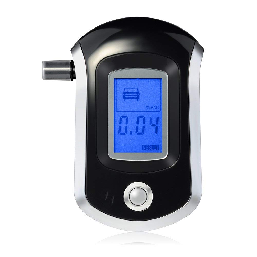 AT6000 alcohol breath tester