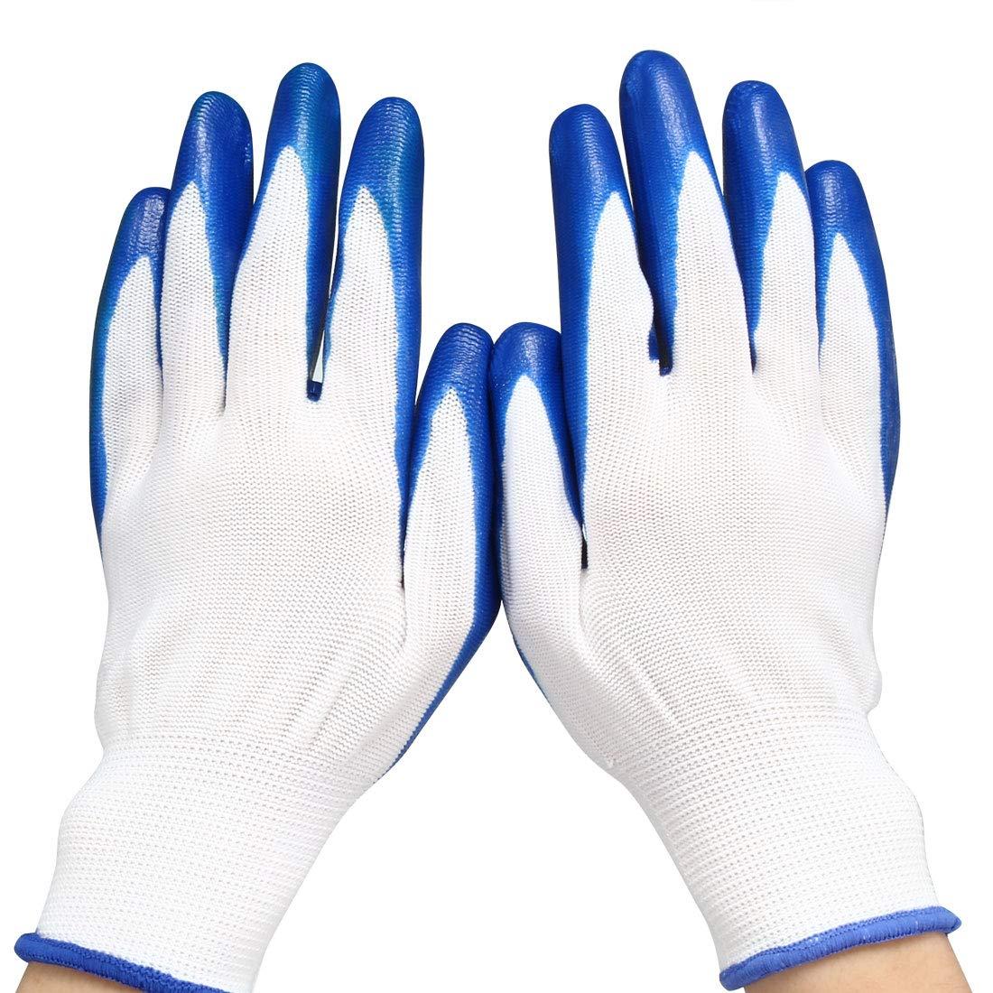 nylon gloves with nitrile coating