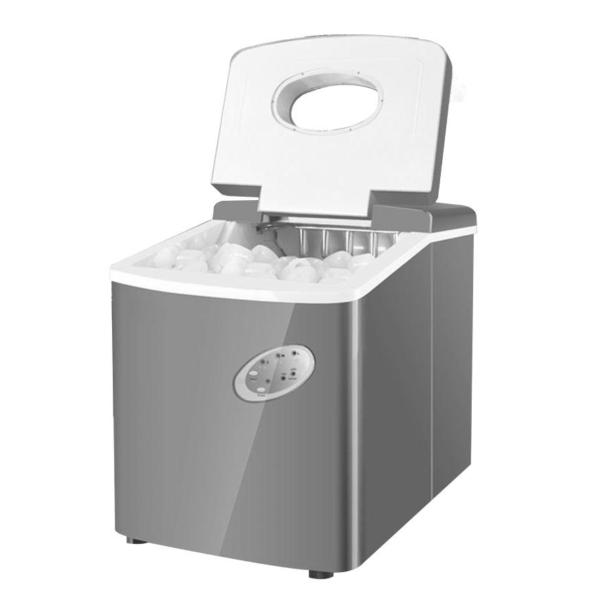 ice cube maker machine door open