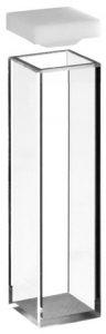 Fluorometer Cuvette (4 side polished) 1