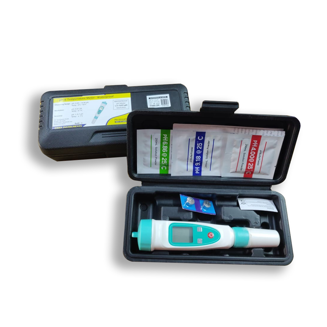 Waterproof pH Meter PH035A 2