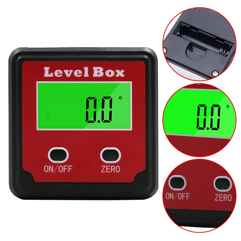 Digital Inclinometer Level Box Tilt Gauge for DTH