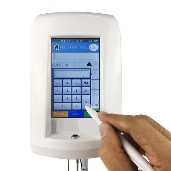 Touchscreen Viscometer T-800 5