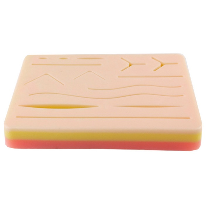 Suture Practice Pad with incisions 2