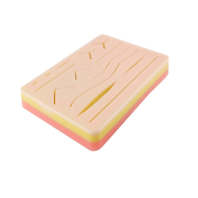 Suture Practice Pad with incisions 3