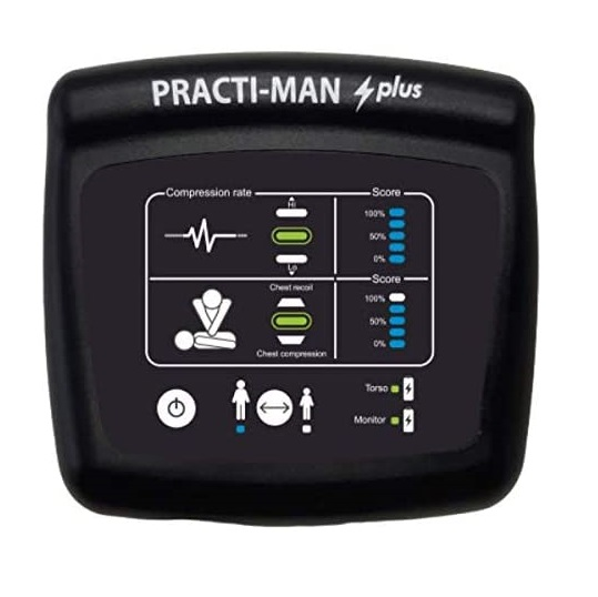 Practiman plus electronic cpr monitor